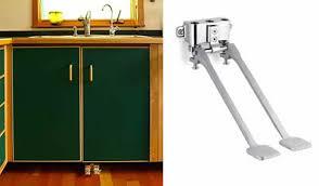foot pedal sink. Delighful Pedal Foot_faucet_sink_hands_free_save_waterjpg Throughout Foot Pedal Sink N