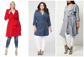 plus size long coat