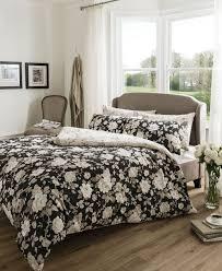 black and cream bedding black beige cream natural duvet cover quilt bedding set single bed