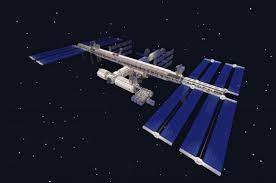 International Space Station Minecraft Education Edition