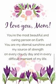 We Love You Mom Quotes I Love You Messages and Quotes for my Mother and Father 19