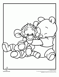 Small Picture Baby Disney Characters Coloring Pages Best Coloring Baby Disney