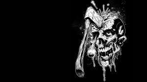 dark, Zombie, Horror, Skull, Weapon ...