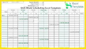 Professional Schedule Template Free Work Schedule Maker Template
