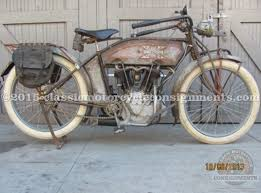 1914 excelsior twin cylinder two sd
