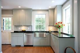 crown molding kitchen traditional with flush cabinets black intended for modern cabinet