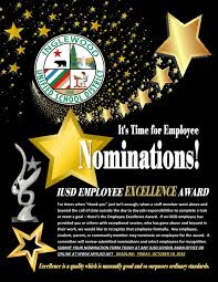Employee Excellence Awards Nomination