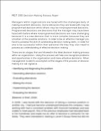 making decisions essay management decision making essay