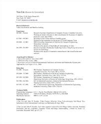 Bioinformatics Resume Sample Beauteous Resume Format Usa Inspiration Bioinformatics Resume Sample R And D