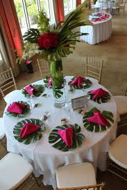 Full Size of Table:hawaiian Centerpieces Amazing Wedding Table Centerpieces  Ideas Monstera Leaf Tropical Reception ...