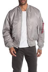 alpha industries men new slvr red ling mock neck jacket mjm21300c1 etdtgep