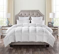 white goose down alternative comforter duvet insert plush siliconized polyester fiberfill