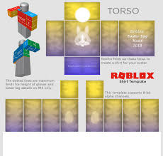 Roblox R15 Shirt Template