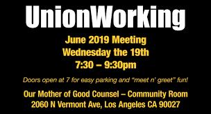 Meet And Greet Meeting Agenda June 2019 Meeting Unionworking
