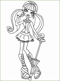 4 Kleurplaten Girls Monster High 14773 Kayra Examples