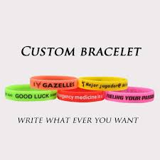High Quality Custom Silicone Bracelet Popular Silicone