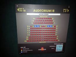 The Forge Joliet Il Seating Chart Seating Chart Inside The Door Of The Auditorium Just In