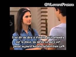 Resume Episode 41 Francais Violetta 2 Youtube