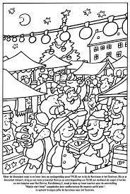 Kunnen Lopen Kleurplaat Kerst Markt In Sfeervol Centrum Veendam