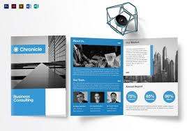 Foldable Brochure Template Free Free Printable Bi Fold Brochure Template 1542