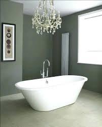 light above bathtub medium size of small chandelier over tub fixture o