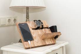 charging station men docking station wooden phone dock wooden phone holder dock