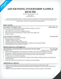 Marketing Internship Resume Objective Expert Illustration Examples