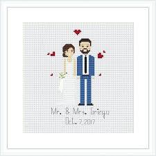 Wedding Cross Stitch Patterns Gorgeous Wedding Heart Cross Stitch Pattern Free Charts To Print Newscellar