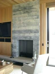 reclaimed wood fireplace surround gas mantel nj r