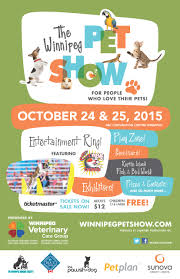 Pet Poster PET SHOW POSTER 24×24 FINAL Winnipeg Humane Society Shelter 1