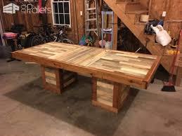Master Kitchen Table Pallet Desks & Pallet Tables