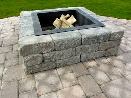 Stacked Stone Fire Pit fire pits mutual materials 6564 by xevi.us