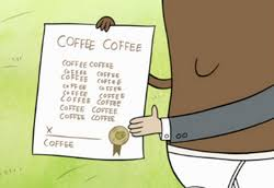 He is tall, slim, and of asian descent. Coffee Bean Translator Regular Show Wiki Fandom
