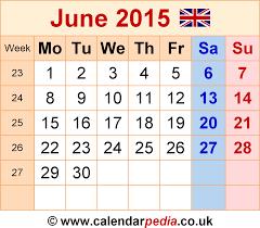 Calendar 2015 June July Calendar June 2015 Uk Bank Holidays Excel Pdf Word Templates