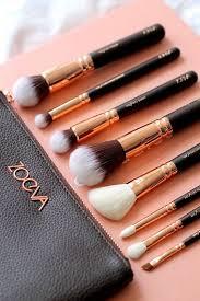 professional luxury set make up tools kit zoeva powder blending brushes