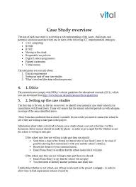 Case Study Template Download Case Study Template And Examples