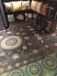 her and company innovative vinyl floorcloths at americasmart rug news anddesign