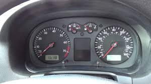 2001 Vw Golf Warning Lights Vw Golf Mk4 Dashboard Warning Lights At Ignition Engine Start Stages