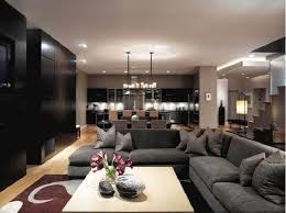 Interesting Open Plan Images For Family Room And Living Rooms That Contemporary Open Plan Kitchen Living Room