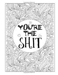 Youre The Sit A Totally Inappropriate Adult Coloring Book Adult