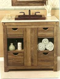 white bathroom vanities with drawers. Rustic White Bathroom Vanity Single Vanities With Drawers Semi Built In Rectangle Sink Under N
