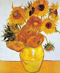 unique one of van gogh s famous sunflower paintings which formed a series
