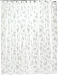 vinyl shower curtains autumn leaves vinyl shower curtain in silver shower curtains vinyl shower curtain liner