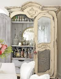 10 Ideas For Setting Up A Home Bar | Shabby, Armoires and Bar