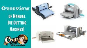 Digital Cutter Comparison Chart Comparison Of Manual Die Cutting Machines