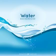 Water Background Vector Free Download