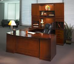 table desks office. Fascinating Office Furniture Desks Executive Wooden Desk  With Drawers And Shelves Lamp Chairs Glass Table T