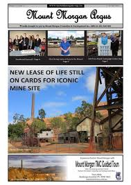 Mount Morgan Argus 2 - 16 July 2015 by Mount Morgan Promotion and  Development Inc. - issuu