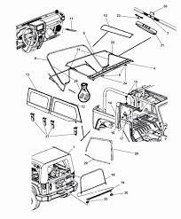 Jeep soft top hardware diagram new 2017 jeep wrangler soft top 2 door mopar parts giant