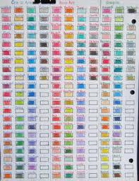 19 Best Color Pencil Color Charts Images Z Arts